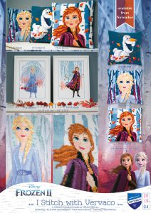 Needlework kits by Vervaco 2019/4 - Frozen
