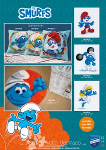 Needlework kits by Vervaco 2019/5 The Smurfs