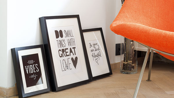 Do small things wall decoration