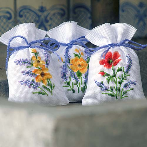 Bag kit Flowers & lavender set of 3 PN-0165143