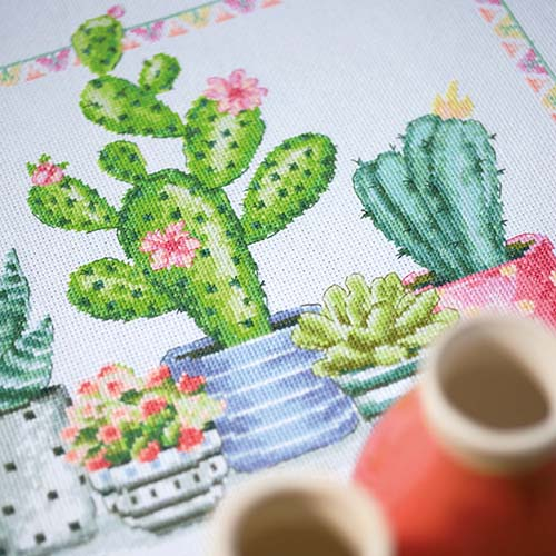 Counted cross stitch kit A plant corner PN-0174387