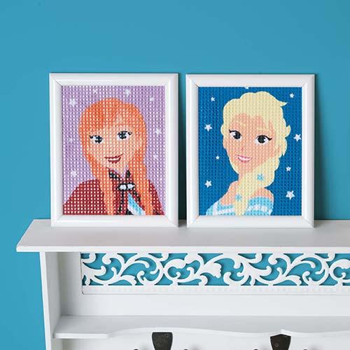 Canvas Kit Disney Frozen Elsa PN-0167688 Anna PN-0167690