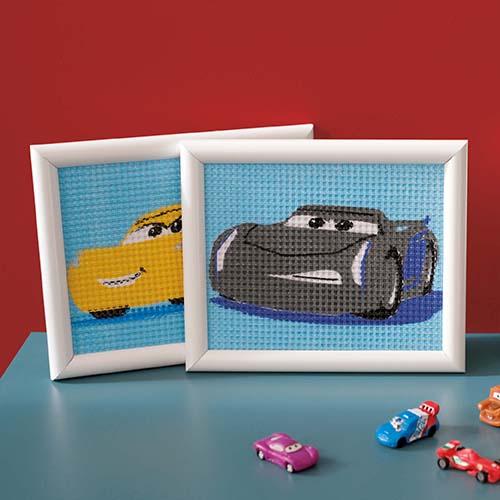 Canvas kit Disney Cars Cruz PN-0167587 Jackson Storm PN-0167588