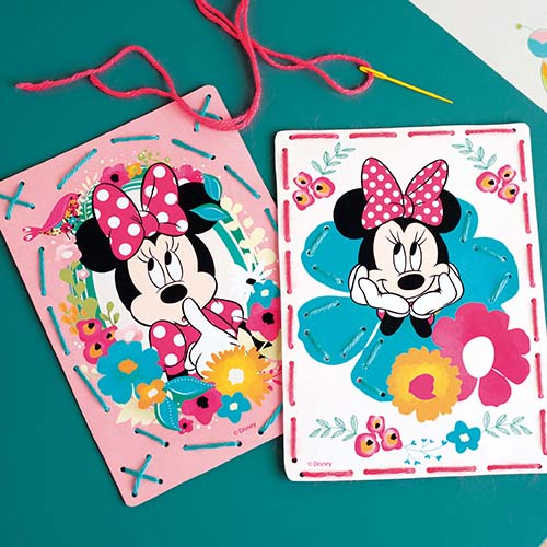 Embroidery card kit Disney Minnie daydreaming PN-0168421