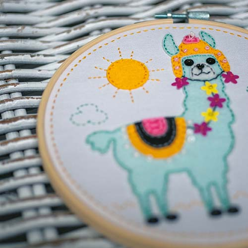 Craft kit with felt Llama PN-0186177