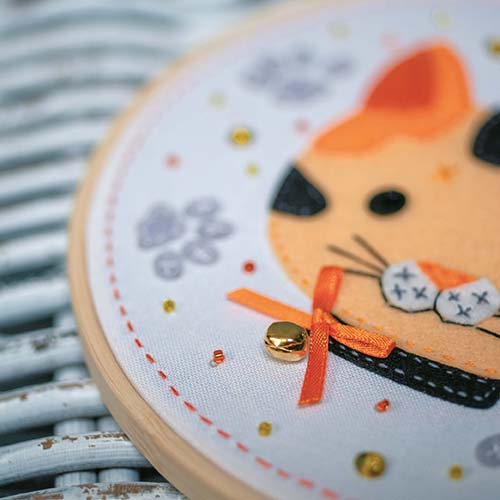 Craft kit with felt Kitten PN-0186179