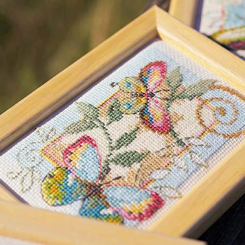 Miniature kit Deco butterflies set of 3 PN-0155948